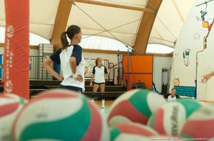 allenamento Volley Pesaro