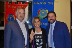 Il Panathlon di Pesaro e Fano festeggia il bronzo di Aurora Ponselè