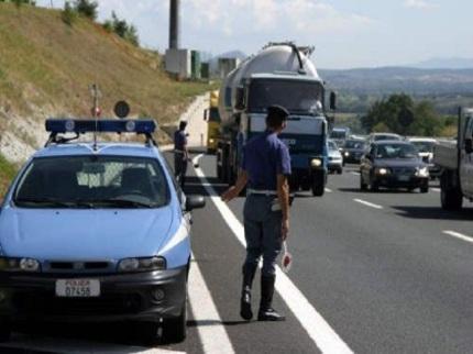 polizia-autostrada
