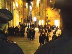 Una delle varie serate universitarie ad Urbino