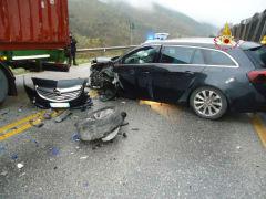 Incidente ss761 tra Frabriano e Serra San Quirico