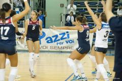 esultanza Volley Pesaro