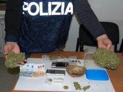 Lotta allo spaccio della Polizia di Urbino