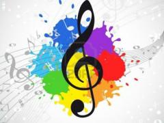 musica, note musicali