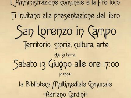 Presentazione libro sulla storia di San Lorenzo in Campo