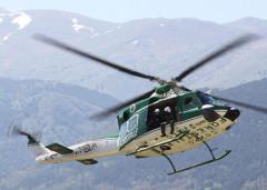 elicottero Corpo Forestale