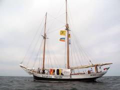 La Goletta Verde, l'imbarcazione di Legambiente