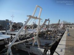 porto, navi, pesca, vongolare