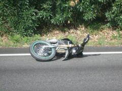 La moto di Nicholas Tarsi