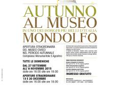 """Autunno al museo"" a Mondolfo"