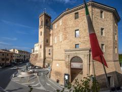 Il Comune di San Costanzo, centro storico, municipio, San Costanzo