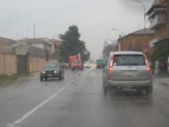 Il maltempo a Senigallia per la pioggia caduta in poche ore