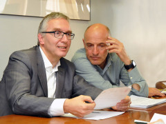 Ripristino fondo regionale per i servizi sociali: la conferenza stampa di presentazione con Ceriscioli e Volpini
