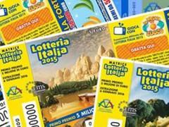 I biglietti della Lotteria Italia 2015