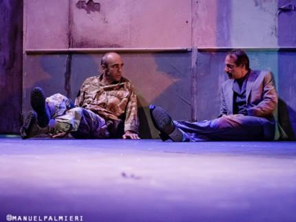 """La tragedia di Shakespeare """"Otello"""" co-prodotta da Gli Incamminati e Compagnia Gank in collaborazione con la Versiliana Festival. Foto di Manuel Palmieri"""