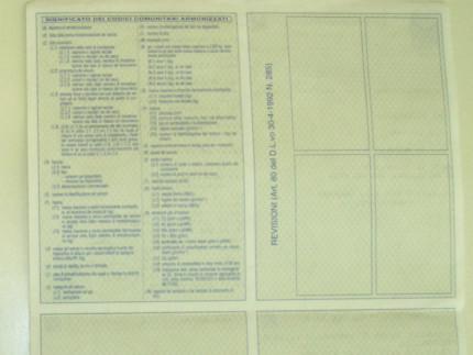 Carta di circolazione stradale