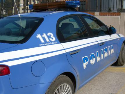 Auto della Polizia 113
