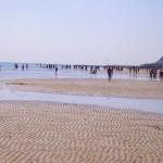 La spiaggia di Pesaro