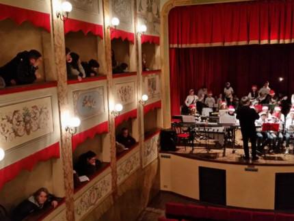Saggio-al teatro di San Lorenzo-in-campo