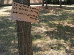 Marotta, i cani sporcano il parco