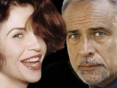 Anna Galiena ed Enzo Decaro