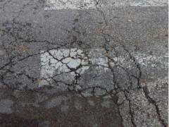 Strada Flaminia, danni