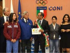 Premiazione Pesaro Città Europea Sport