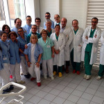 Dott. Valerio Beatrici con la sua equipe