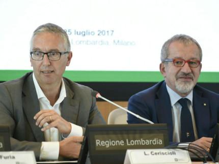 Luca Ceriscioli e Roberto Maroni