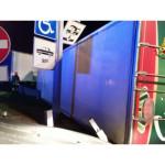 incidente nell' l'area di servizio Metauro Est
