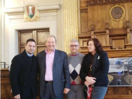 Sandro Sorbini (secondo da sinistra)