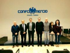Antonio Baldelli incontra Confcommercio