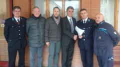 Baldelli e il segretario Sappe Silvestri incontrano gli agenti del carcere di fossombrone