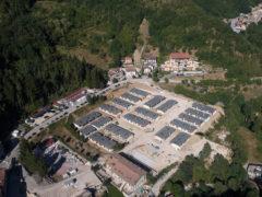 Terremoto, le casette installate nella zona di Arquata del Tronto