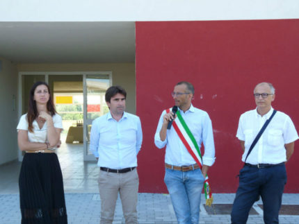 Inaugurazione alloggi di edilizia residenziale pubblica a Pesaro