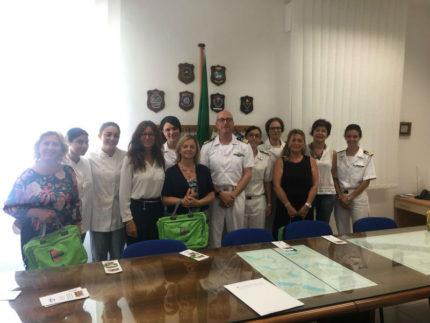 Incontro tra Terziario Donna e le donne della Guardia Costiera