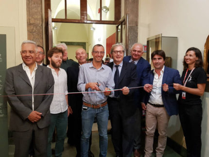 Inaugurazione della mostra su Rossini