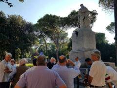 Restauro della statua di Garibaldi a Pesaro