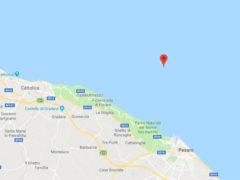 Epicentro terremoto in mare a Pesaro