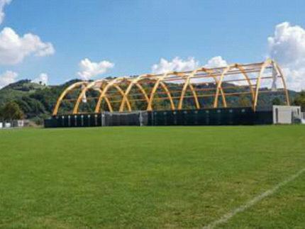 """Struttura sportiva coperta all'istituto """"Della Rovere"""" di Urbania"""