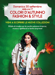 Fashion and Style al Centro Commerciale Fanocenter - locandina