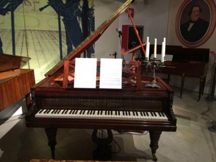 Pianoforte alla mostra Rossini 150