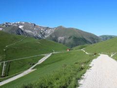 i Prati di Ragnolo, nei Monti Sibillini