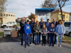 """Inaugurazione di una """"Casa dell'acqua"""" a Pesaro"""