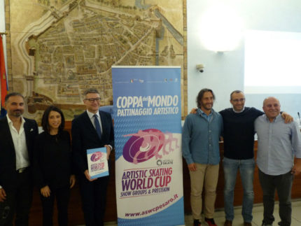 Presentazione dell'Artistic Skating World Cup