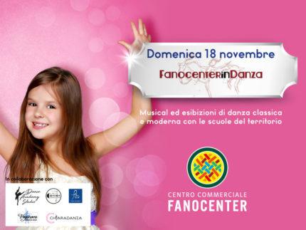 Fanocenter in Danza domenica 18 novembre