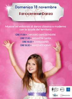 Fanocenter in Danza domenica 18 novembre - locandina
