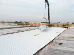 Rimozione amianto e rifacimento copertura: un lavoro in fase di ultimazione a cura di MC Coperture