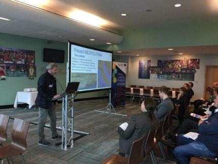 Presentazione della bicipolitana di Pesaro a Manchester