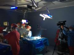Intervento chirurgico dell'azienda ospedaliera Marche Nord in diretta streaming mondiale